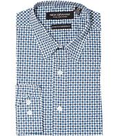 Nick Graham - Diamond Print Stretch Shirt
