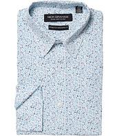 Nick Graham - Floral Print CVC Stretch Dress Shirt