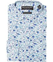 Nick Graham - Floral Print Stretch Shirt