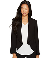 Vince Camuto Specialty Size - Petite Drape Front Blazer