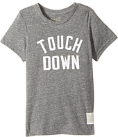 The Original Retro Brand Kids - Touchdown Short Sleeve Tri-Blend Tee (Little Kids/Big Kids)