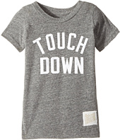 The Original Retro Brand Kids - Touchdown Short Sleeve Tri-Blend Tee (Toddler)
