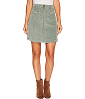 Jag Jeans - McCamey Zip Front Skirt in Refined Corduroy