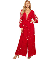 Free People - Embroidered V Jumpsuit