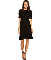 Three Dots - Brushed Sweater Rib 1/2 Sleeve Dress