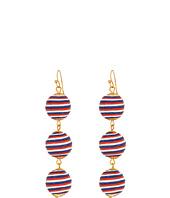 SHASHI - Matilda Stripe Linear Drop Earrings