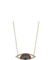 SHASHI - Rainbow Eye Pendant Necklace
