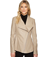Via Spiga - PU Asymmetrical Zip