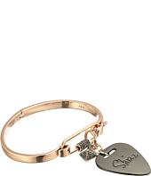 Rebecca Minkoff - Guitar Pick Hinged Cuff Bracelet