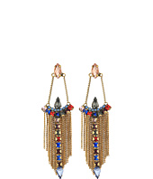 Rebecca Minkoff - Clara Stone Fringe Chandelier Earrings