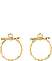 Rebecca Minkoff - Front Facing Hoop Earrings