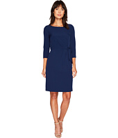 Tahari by ASL - Side Tie Sleeved Sheath Dress