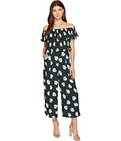J.O.A. - Floral Printed Off the Shoulder Jumpsuit