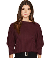 J.O.A. - Boat Neck Dolman Sleeve Sweater