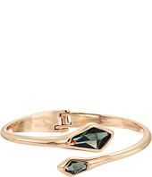 Robert Lee Morris - Green and Gold Hinge Bangle Bracelet