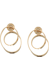 Robert Lee Morris - Gold Loop Hoop Earrings