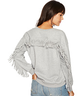 J.O.A. - Fringe Back Sweatshirt