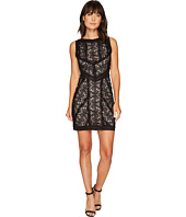 Nicole Miller - Queen of the Night Stretch Lace Mini Dress