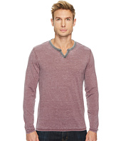 Lucky Brand - Burnout Notch Neck Tee