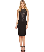 Calvin Klein - Mirrored Embellishment Details Scuba Sheath Dress CD7M185R