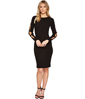 Calvin Klein - Split Sleeve with Arm Buckle Detail Sheath Dress CD7C14CC