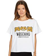 Moschino - Jersey Stretch Moschino Bear T-shirt
