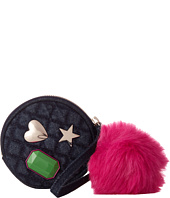 GUESS - Mix Match Pom Pouch Keychain