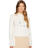 Cashmere In Love - Daisy Oya Embroidered Pullover