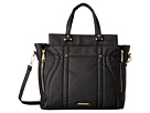Side Zip Tote with Crossbody Strap