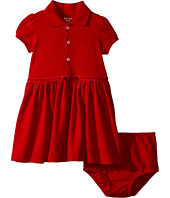 Ralph Lauren Baby - Cotton Polo Dress & Bloomer (Infant)