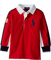 Polo Ralph Lauren Kids - Cotton Jersey Rugby Shirt (Toddler)