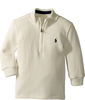 Ralph Lauren Baby - French-Rib 1/2 Zip Pullover (Infant)