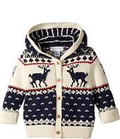 Ralph Lauren Baby - Reindeer Cotton-Wool Cardigan (Infant)