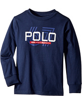 Polo Ralph Lauren Kids - Cotton Jersey Graphic T-Shirt (Little Kids/Big Kids)