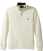 Polo Ralph Lauren Kids - French-Rib 1/2 Zip Pullover (Big Kids)