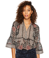 Lucky Brand - Mixed Print Top