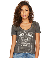 Lucky Brand - Studded Jack Daniels Tee