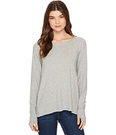 Michael Stars - Madison Brushed Jersey Long Sleeve w/ Thumbholes