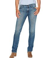 Agave Denim - Rosie Stone Straight Fit Jeans in Medium Fade