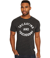 The Original Retro Brand - Tailgating & Touchdown Short Sleeve Tri-Blend Tee