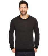 Perry Ellis - Herringbone Crew Neck Sweater