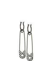 Steve Madden - Casted Bar Clasp Earrings