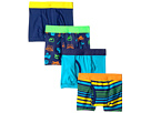 4-Pack Sports Cotton Tagless Boxer Briefs (Toddler/Little Kids/Big Kids)