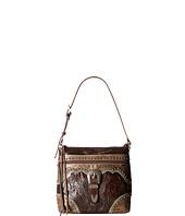 American West - Saddle Ridge Zip Top Shoulder Bag
