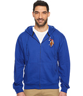 U.S. POLO ASSN. - Full Zip Hoodie W/ Multi Color Pony