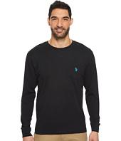U.S. POLO ASSN. - Long Sleeve Crew Neck Pocket T-Shirt