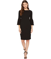 Calvin Klein - Pleated Bell Sleeve Sheath CD7C18EH