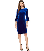Calvin Klein - Bell Sleeve Velvet Sheath CD7V133E