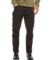G-Star - Rovic Zip 3D Tapered Fit Pants in Premium Micro Stretch Twill Raven