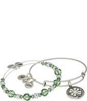 Alex and Ani - Four Leaf Clover Bracelet Set of 2